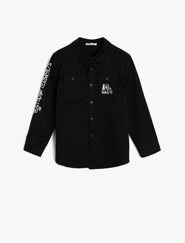 Koton Kids Gömlek Siyah